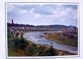 Fangio Maserati Hawthorn Ferrari Gp