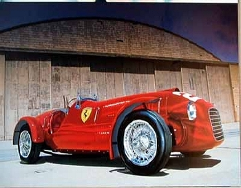 Ferrari 166 Sc Corsa Poster
