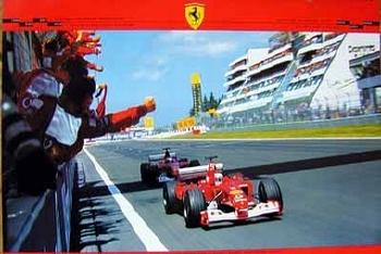 Ferrari 2003 Grand Prix Europe