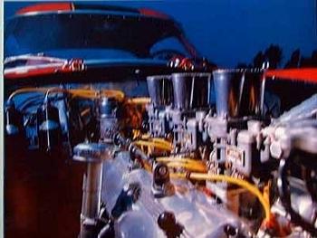 Ferrari 250 Gt Engine Poster