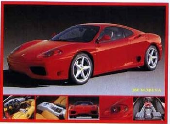 Ferrari 360 Modena Automobile Car