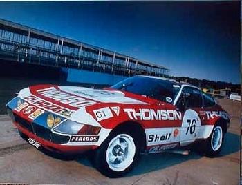 Ferrari 365 Gtb/4 Competizione Poster