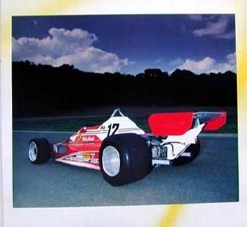 Ferrari 312 T2 Poster