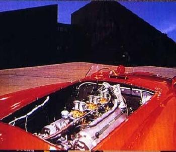 Ferrari 375 Mm Motor Poster