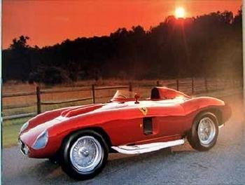 Ferrari 857 Sport Poster