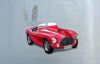 Ferrari Barchetta 212 1951