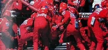 Ferrari F1 1999 Pit Stop