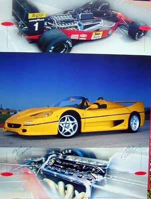Ferrari F1/90 F50 Gunther Raupp