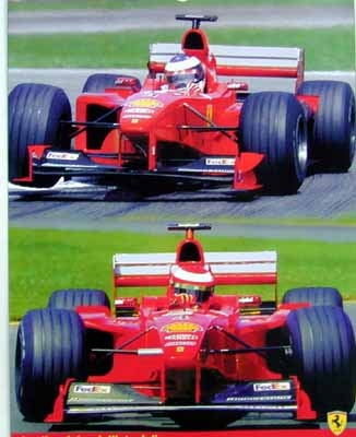 Ferrari Michael Schmacher Eddie