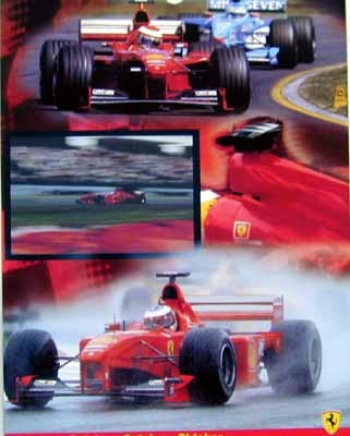 Ferrari Michael Schumacher Eddie