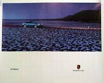 Blau Seitlich Evolution Porsche 911