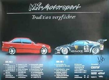 Bmw M1 M3 Rennen Mk-motorsport