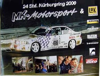 Bmw M3 Rennen Nürburgring 2000
