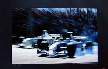 Filipe Massa Sauber Petronas Outbraking