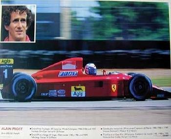 Formel 1 Alain Prost Ferrari