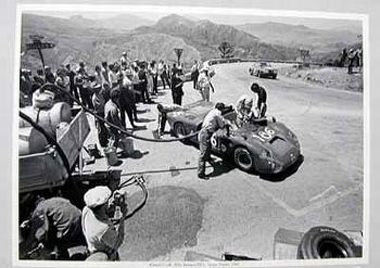 Targa Florio 1968. Giunti And Galli In Their Alfa Romeo 33/2.