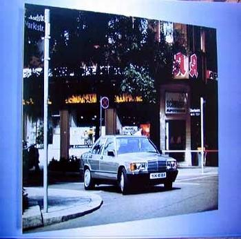Mercedes-benz 1987 190 W201