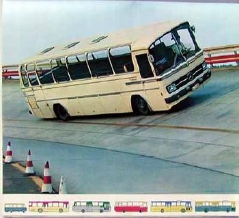 Mercedes-benz Original 1969 Mb Bus