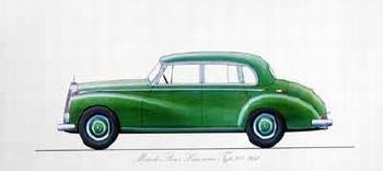 Mercedes-benz Original 1973 Limousine Type