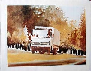 Mercedes-benz Original 1978 Mb Truck