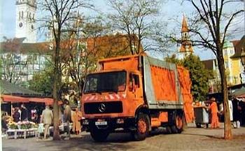 Mercedes-benz Original 1984 Truck