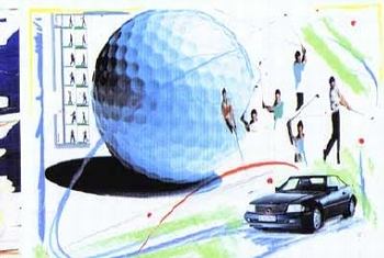 Mercedes-benz Original 1997 Mb Cl