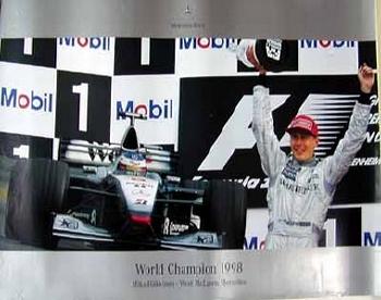 Mercedes-benz Original 1998 World Champion
