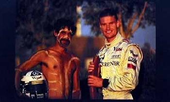Mercedes-benz Original 2001 David Coulthard