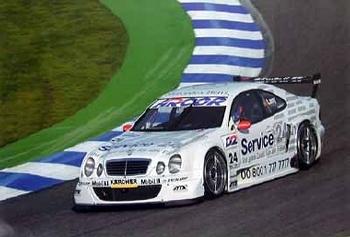 Mercedes-benz Original 2001 Dtm 2000
