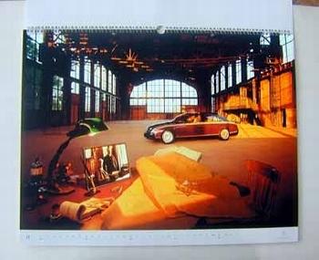 Mercedes-benz Original 2001 Vision Maybach