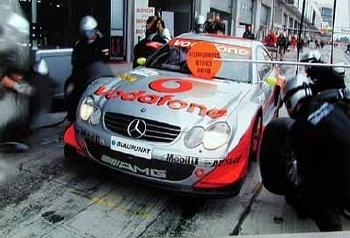 Mercedes-benz Original 2003 Dtm 2002