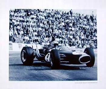 Gp Monaco 1967 Denis Hulme