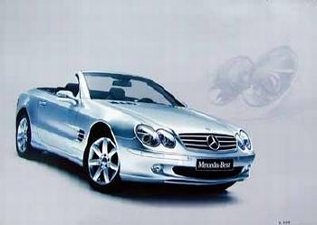 Mercedes-benz Original 2004 Sl 500