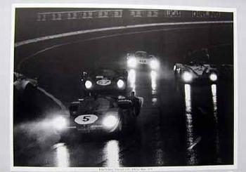 24 Stunden Von Le Mans 1970. Ickx Und Schetty Im Ferrari 512s.