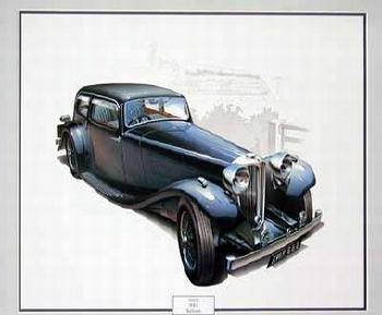 Jaguar Original 1985 Ss1 Saloon