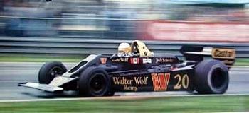 Jody Scheckter Wolf Gp Holland