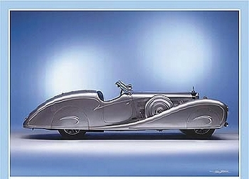 Mercedes-benz 500 K Erdmann U