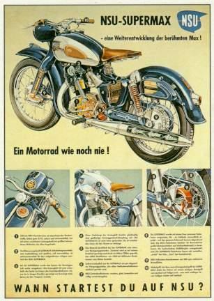 Nsu Supermax 1957 Motorcycle