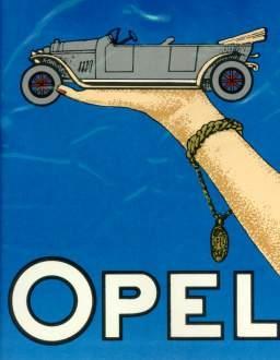 Opel-püppchen Um 1913