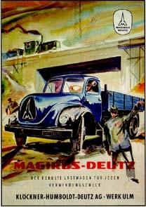 Magirus-deutz About 1960