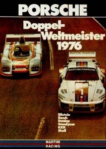 Double World Champion 1976 - Porsche Reprint - Kleinposter