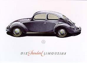 Vw Volkswagen Käfer Werbung 1952