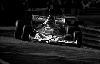 Monaco Grand Prix 1974. Emerson Fittipaldi Im Mclaren M 23 Ford.