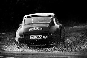 Paul Toivonen In A Porsche 911 S, Ralley Monte Carlo 1969