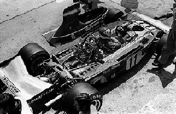 Grand Prix Von Deutschland Nürburgring 1974. Clay Regazzoni Im Ferrari 312b3.