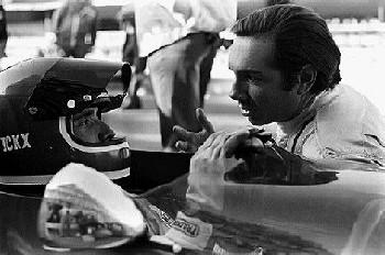 Jacky Ickx And Pedro Rodriguez Dutch Grand Prix 1970, Zandvoort