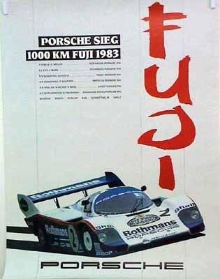 Porsche Original 1983 - Sieg 1000 Km Fuji - Mint