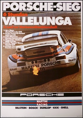 6 Hours Of Vallelunga 1976 - Porsche Reprint