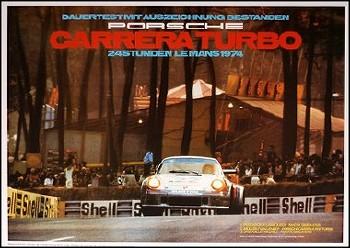 24 Hours Of Le Mans 1974 - Porsche Reprint