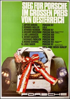Grosser Preis Von Österreich 1969 - Porsche Reprint